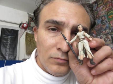 Aldo Rodrigo Sanchez Tovar CRONOS Tiempo de Todo Modeling Clay figures Star Wars The Force Awakens Rey Finn BB8 Poe Dameron Monterrey Mexico (3)