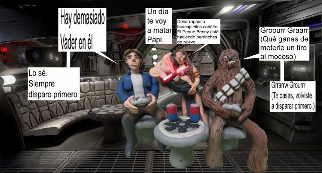 Aldo Sanchez Star Wars Clay Meme espanol