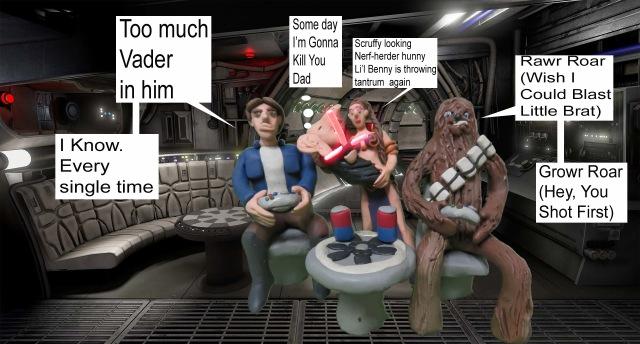 Aldo Sanchez Star Wars Clay Meme